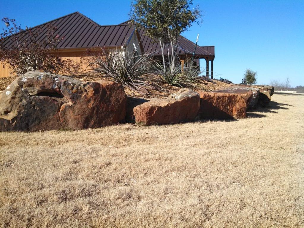 Ennis-TX-landscaping-stones