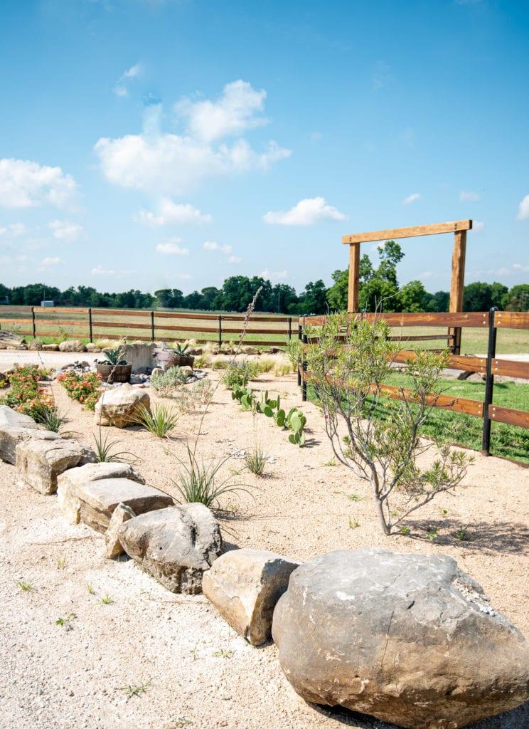 Waxahachie, Texas Landscape Design